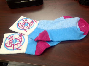They're HERE! Girls Gone Riding SOCKS!