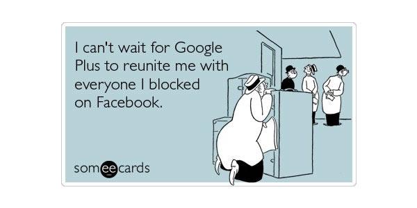 Google Plus Funny Images: Can't Wait Reunite