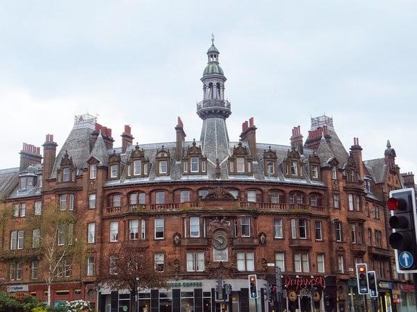 Glasgow Scotland écosse West End charing's cross