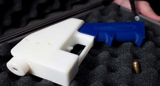 American Student make a Gun with 3D Printer