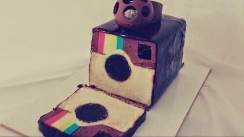 Bolo criativo: Instagram