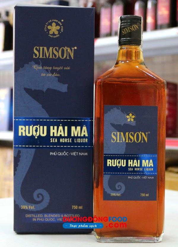 Rượu Hải Mã Phú Quốc