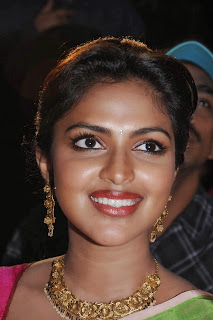 Actress Amala Paul Pictures in Pink Saree at Saivam Movie Audio Launch  0006.jpg