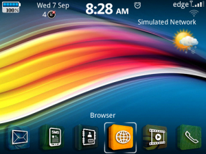 3D Icons Theme for Blackberry