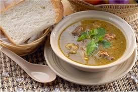 lamb soup, sup kambing