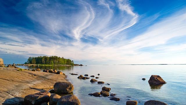 Finland Landscape Island