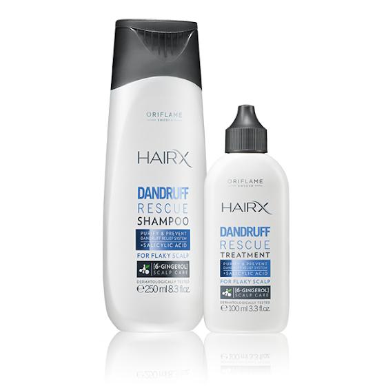 HairX SOS Anticaspa - Cuidados Capilares Oriflame