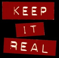 Text: Keep it Real