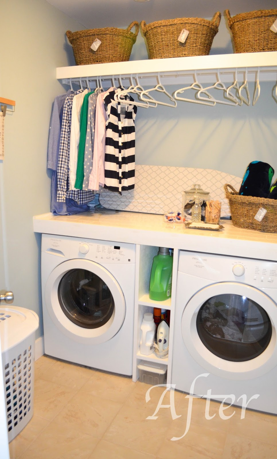 slippers by day organization palooza day 3 laundry room. Black Bedroom Furniture Sets. Home Design Ideas