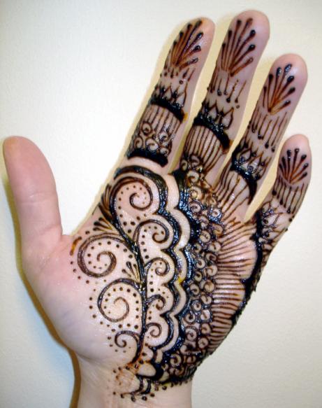 Mehndi Patterns Kids : Top floral henna designs for kids mehendi