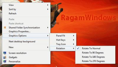 Rotate Desktop