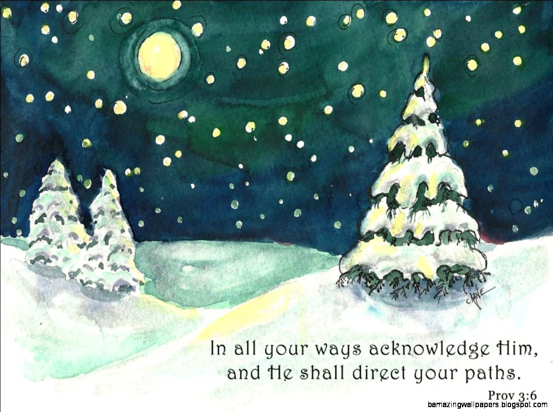 Winter Night – Painting By Christine Novak Kane – Poems From