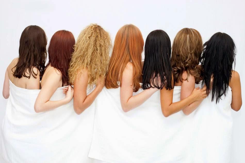 преображение волос в салоне