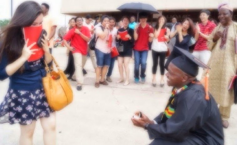 nigerian guy proposed white girlfriend