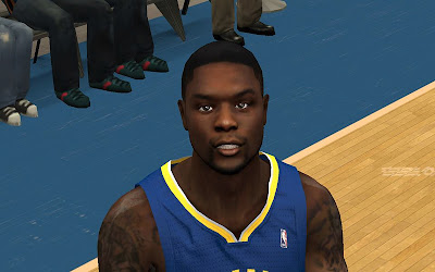 NBA 2K13 Lance Stephenson Cyberface NBA2K Patch