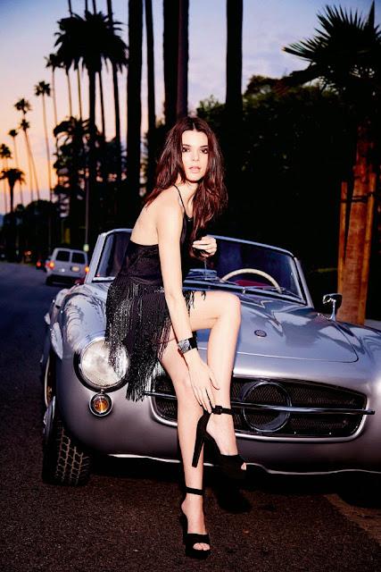 Kendall Jenner – Le Lis Blanc Photoshoot