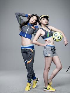 Asian Women Sport Fashion