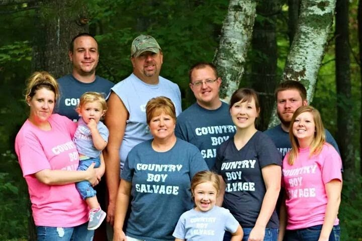 Country Boy Salvage Family