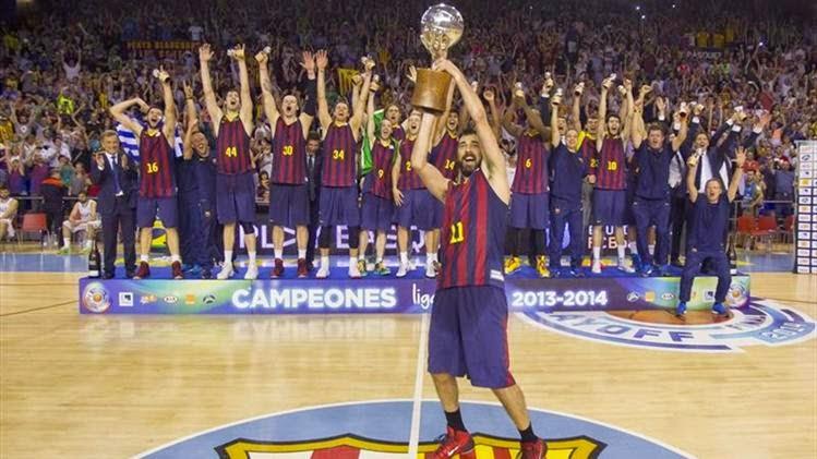 BALONCESTO-El Barça fue superior en las finales y es campeón de liga