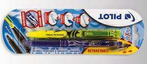 Długopis wymazywalny Frixion Clicker Pilot z Biedronki