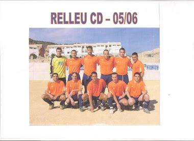 Cd.Relleu 05-06. Temporada de ascenso a 1a Regional