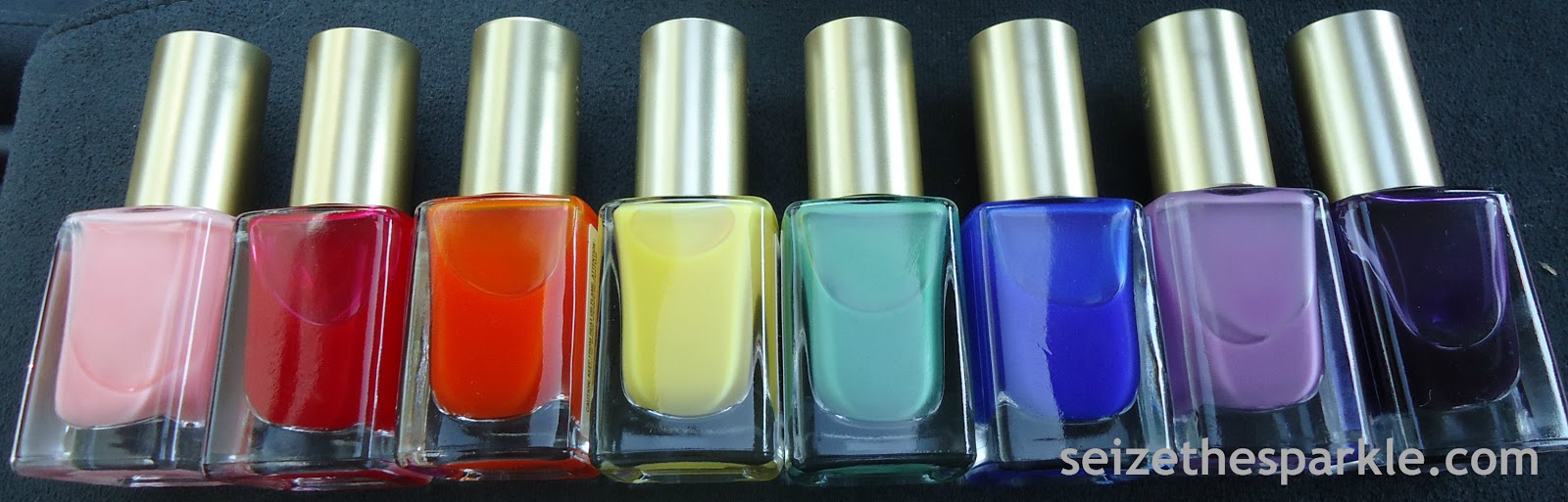 L\'Oreal Miss Candy Jelly Nail Polish (Spring 2013) - Seize the Sparkle