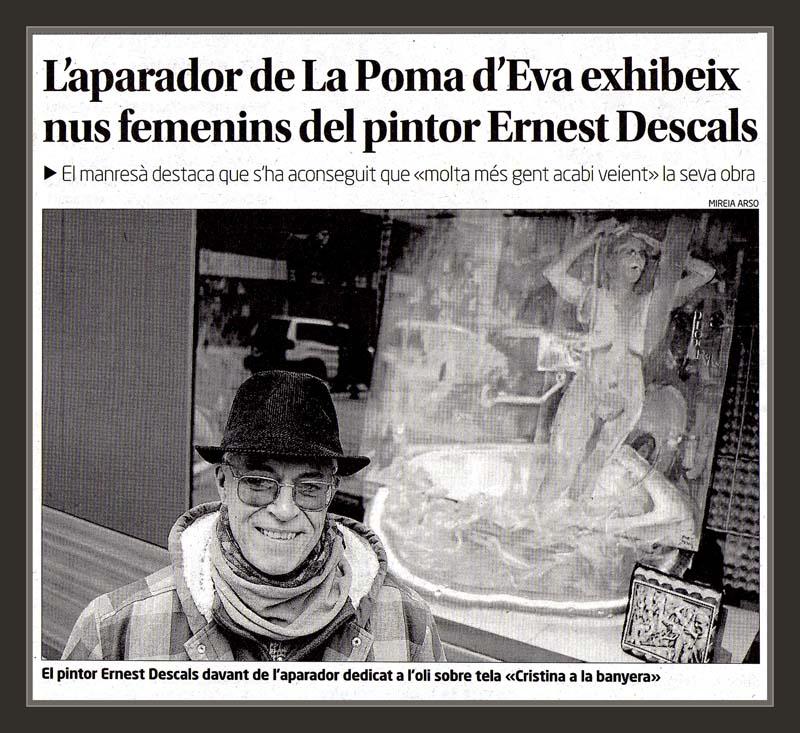EROTISME-PINTURA-EROTICA-ART-POMA D´EVA-MANRESA-PINTOR-ERNEST DESCALS-