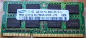 ram laptop samsung 2gb ddr3 bus 1066mhz
