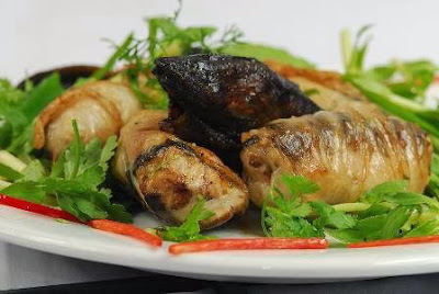 Bí quyết làm món Lươn bọc mỡ chài nướng ngon