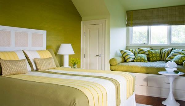 chambre vert lime id es d co pour maison moderne - Chambre Verte Zen