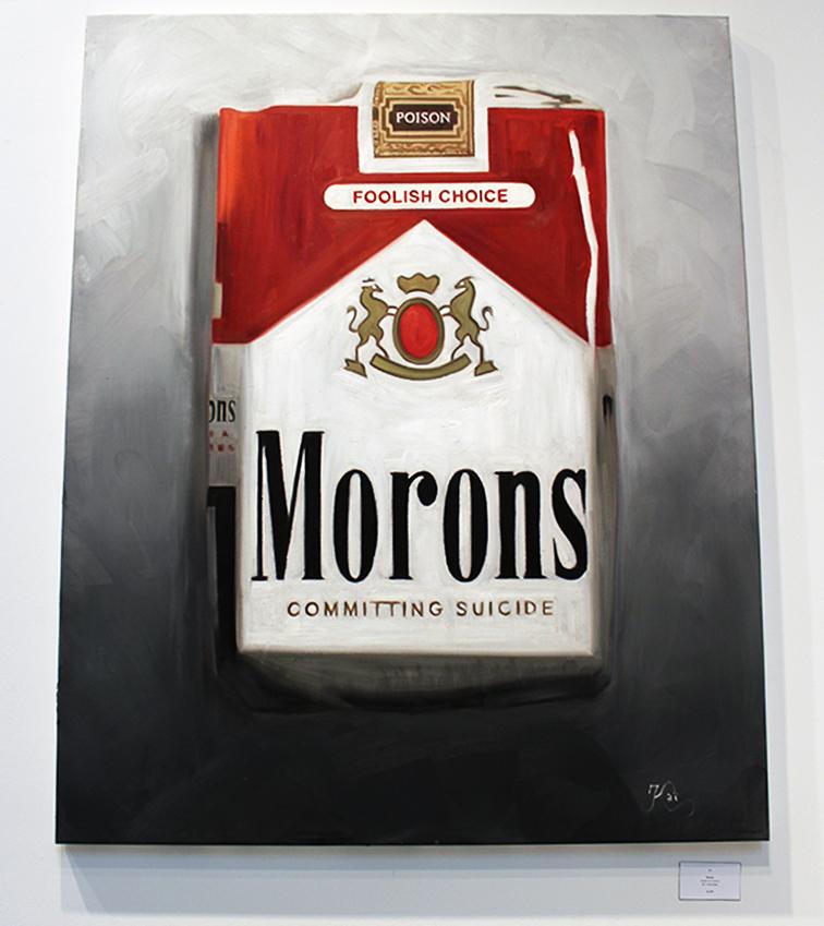 Moron by Kai at Lulu Laboratorium in Wynwood at Art Basel, Miami, 2014