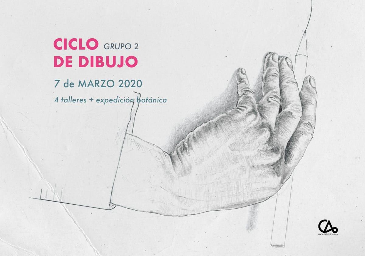 CICLO DE DIBUJO 4 // 7 de marzo