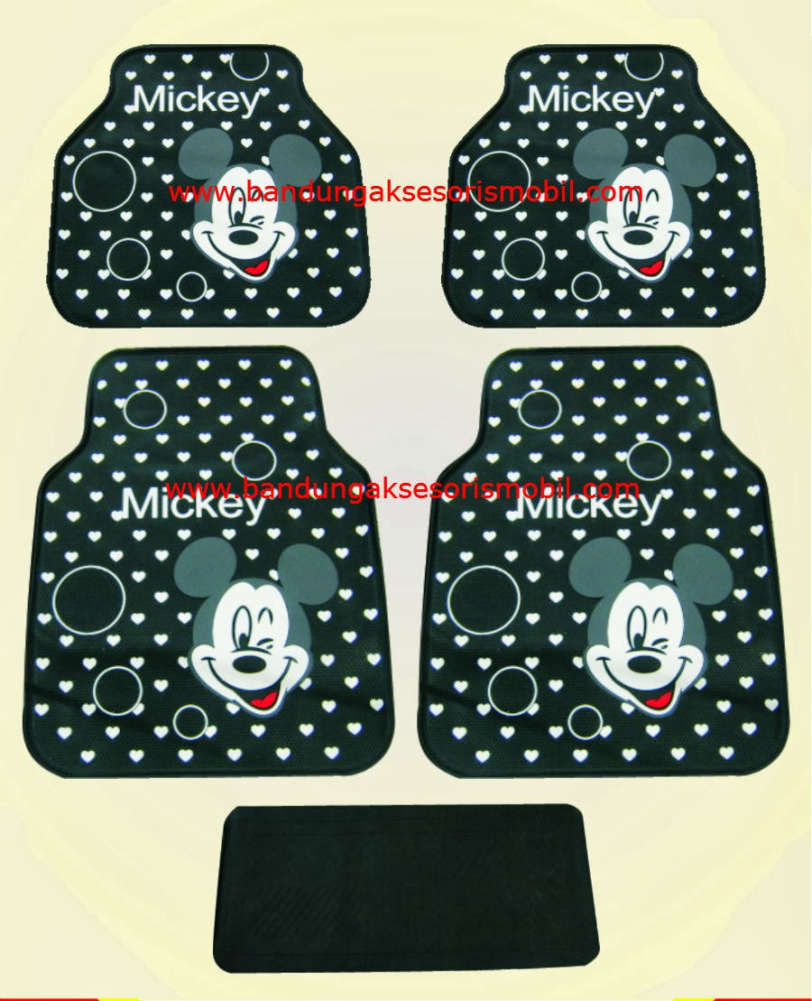 Karpet Mickey Black