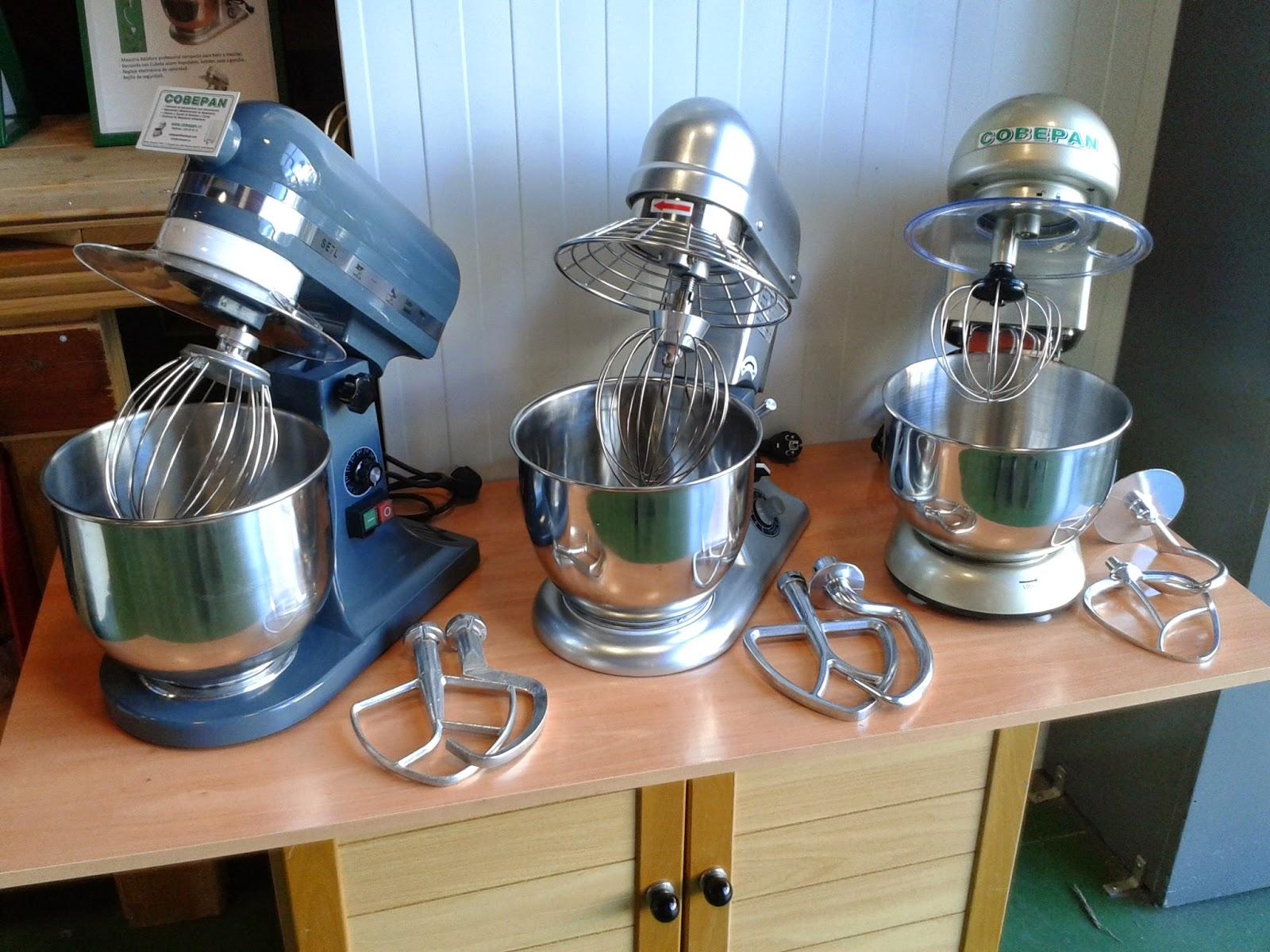 Maquinaria y accesorios para panaderia y pasteleria profesional.