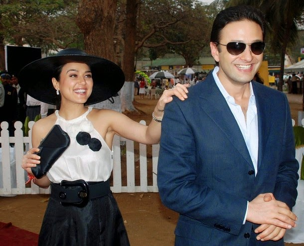 Preity Zinta with Ness Wadia