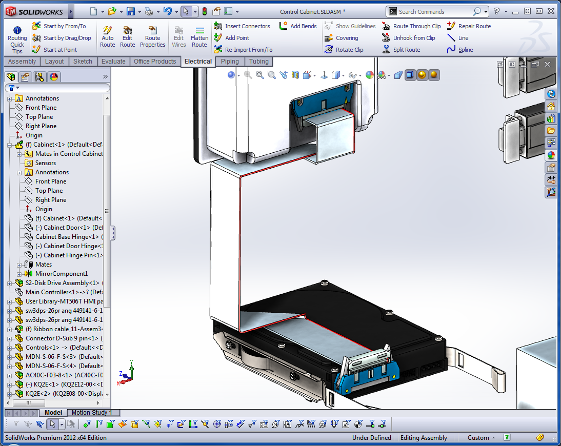 Using Solidworks Premium  For Electrical Design