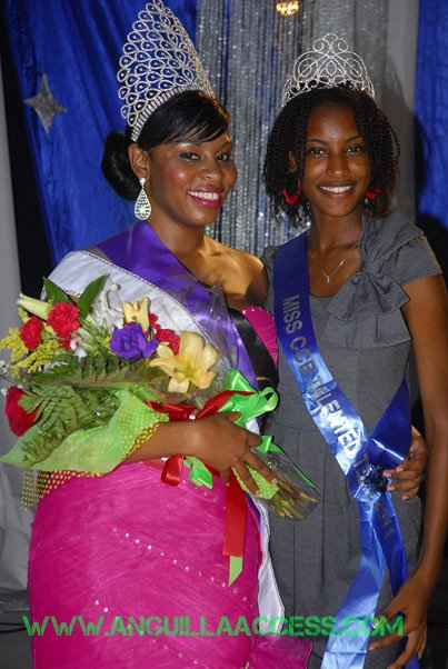 Miss Anguilla 2011 Winner Olufunmike Banks Devonish