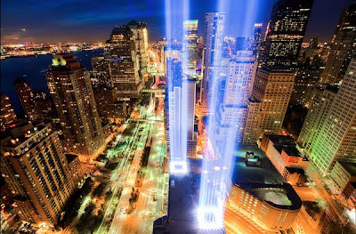 9/11 Tribute in Light Seen On www.coolpicturegallery.us