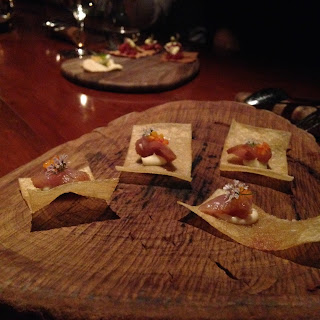 hentley farm, barossa, degustation, adelaide, fine dining, tuna