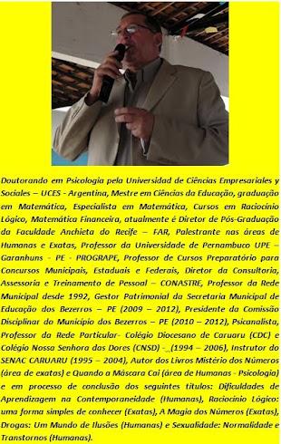 CURRÍCULO - PROFESSOR NIVALDO MONTEIRO
