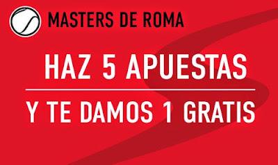 Sportium bono hasta 50 euros con el Masters de Roma – mayo 2015