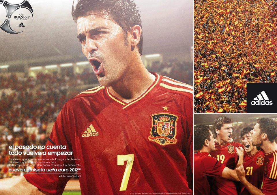 80a1382e5d FutCamisas  Camisa Adidas TechFit Espanha Uefa Euro 2012 Home