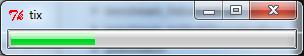 ttk Progressbar widget