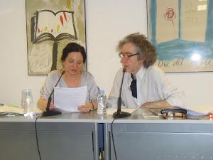 Presentación de libros de Carmen Sánchez