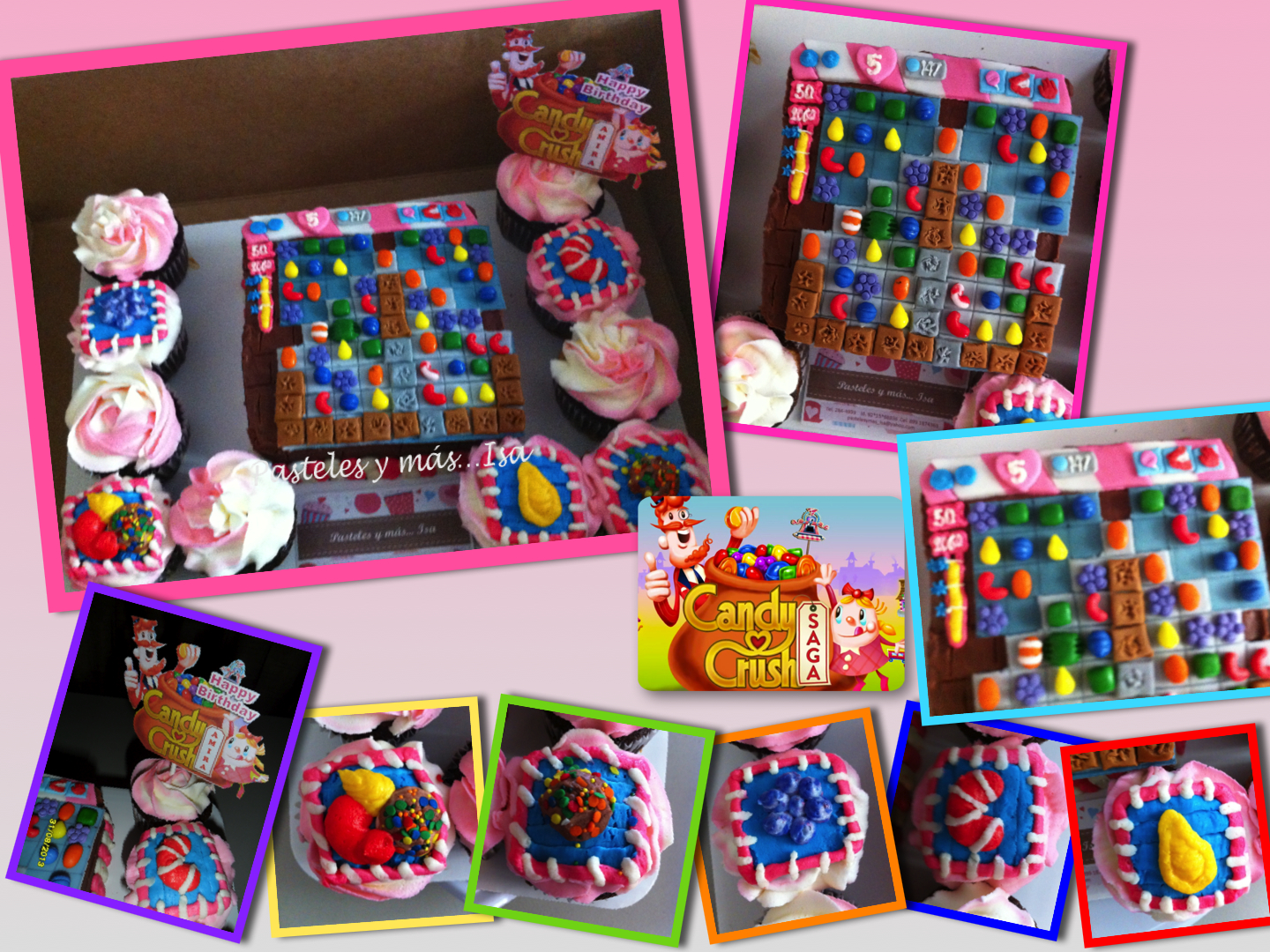 Pasteles y m s isa - 1600 candy crush ...