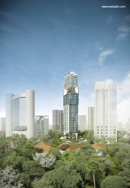 Torre The Scotts para Singapur