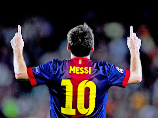 lionel messi back view