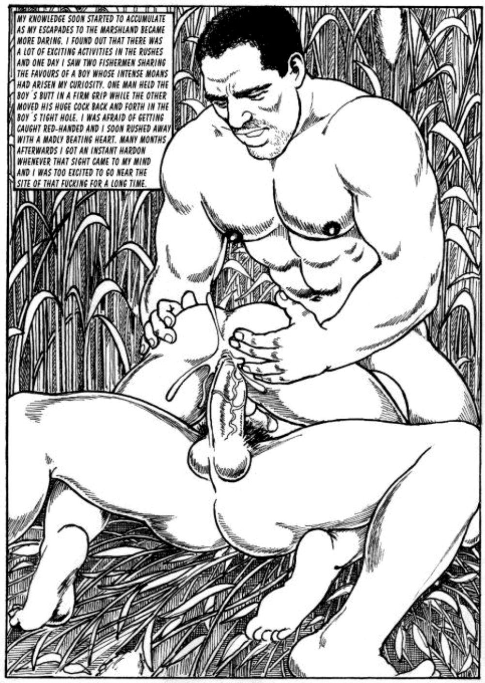 Хентай и яой комиксы 10 фотография