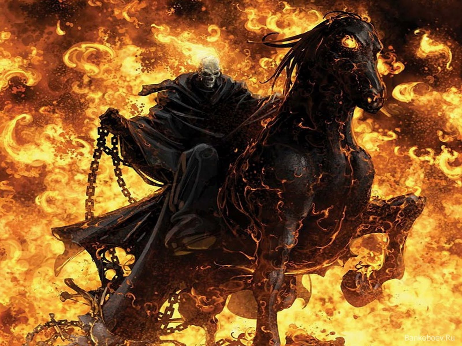 only wallpapers ghost rider film
