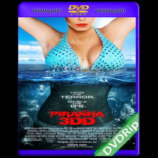 Piranha 3DD (2012) DVDRip Español Latino